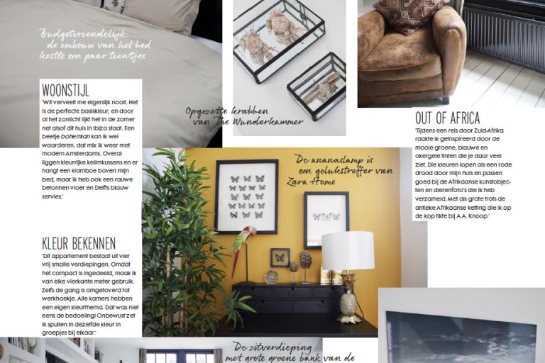 Blauwe Design Bank.Elle Nl June 2014 Bambou Interior Design